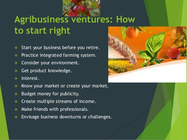 agribusiness business plan