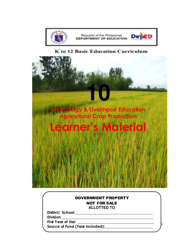 Agri crop grade 10 lm
