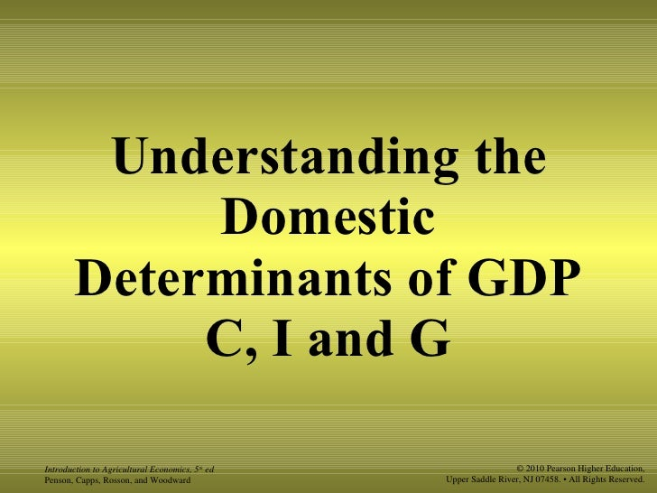 determinants of gross domestic saving in Macroeconomic determinants of savings in egypt statistical model built up from national accounts data on gross domestic investment and from balance of.