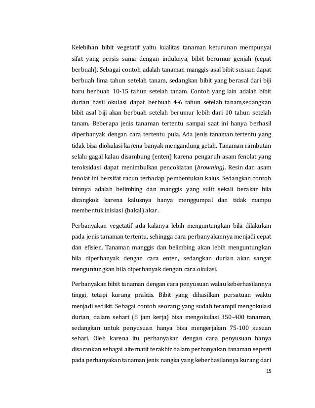 Agribisnis Pembibitan Dan Kultur Jaringan Xi 3