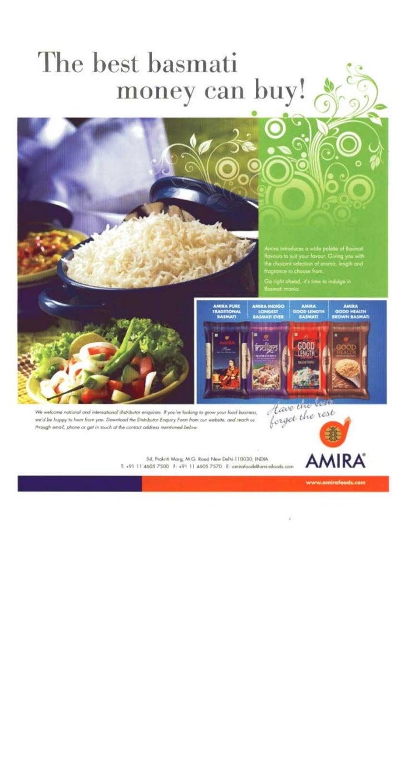 Agri business & food industry - karan chanana