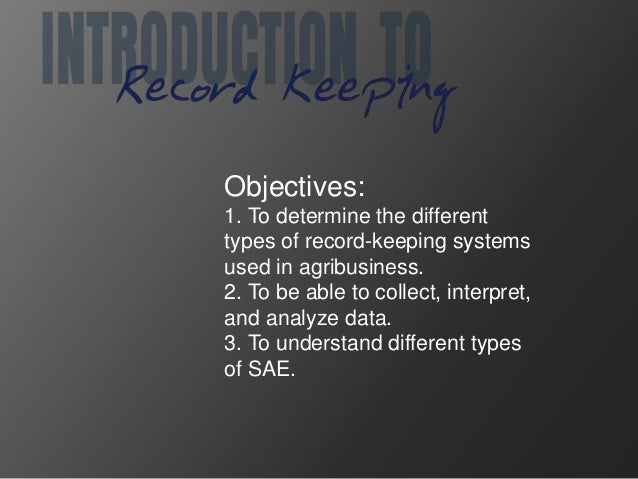 record keeping systems What does a recordkeeping system look like does faa have an electronic  recordkeeping system how can i get additional guidance.