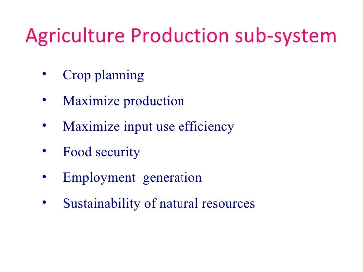 input subsystem of agribusiness It can also be applied in agricultural research institutes such as the michael okpara university of agriculture, (mouau)umudike  include the input sub-system, controlsub-systemandoutputsub-system design and implementation of automatic irrigation control system.
