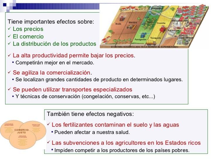 <ul><li>Tiene importantes efectos sobre: </li></ul><ul><li>Los precios </li></ul><ul><li>El comercio </li></ul><ul><li>La ...