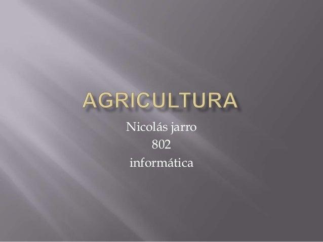 Nicolás jarro    802informática