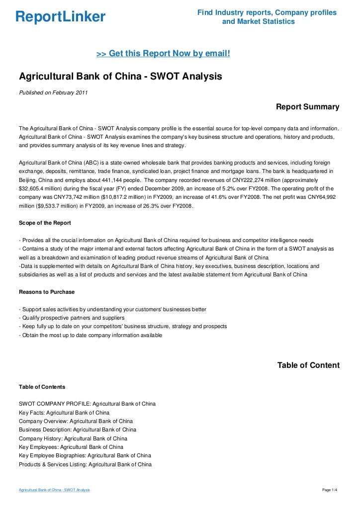 bank of america company analysis Free essay: bank of america corporation analysis thomas l lowther iii mgt /521 may 16, 2011 chuck andre bank of america corporation analysis banking is an.