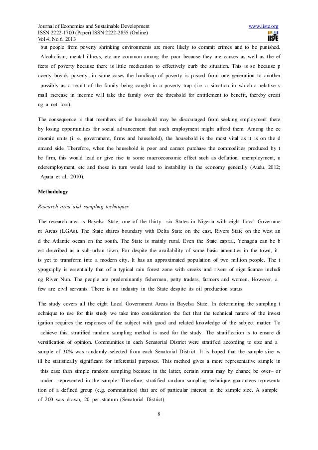 vices causes and effects among high Social vices according to zubaida  used to determine the causes of indiscipline among secondary school  of the 2011 international conference on teaching.