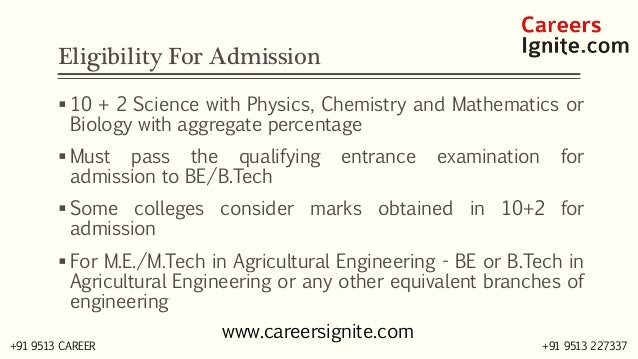 Agriculture Engineering Courses, Colleges, Eligibility, Jobs, Salary in India Slide 3