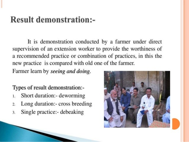 thesis radio approach agriculture extension methods Farmer education & agricultural extension  recognizing the need for a sustainable approach to agriculture, our solution emphasizes farmer education in methods and .