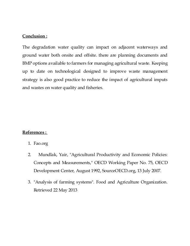 inorganic farming essay Agriculture essay topics here's a list of agriculture essay topics, titles and different search term keyword ideas the larger the font size the more popular the keyword, this list is sorted in alphabetical order.