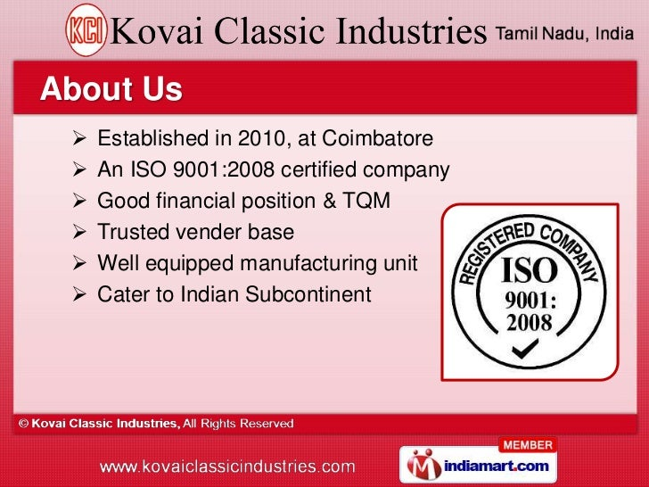 Agricultural Machines & Coco Products by Kovai Classic Industries, Coimbatore  Slide 2