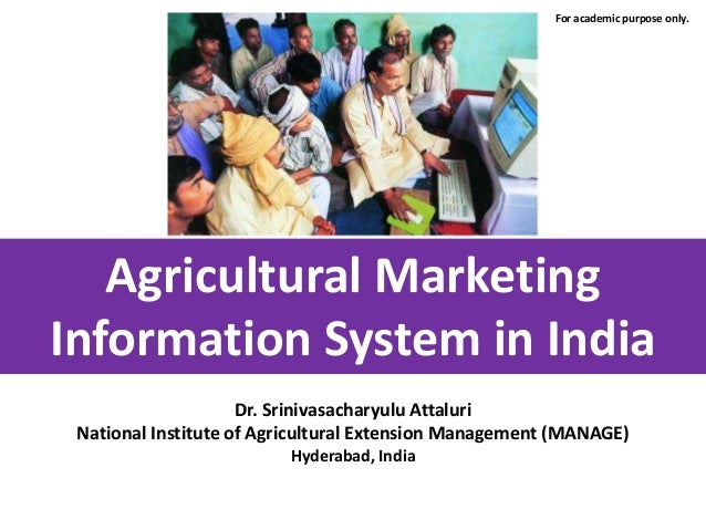 agricultural marketing information systems in africa essay