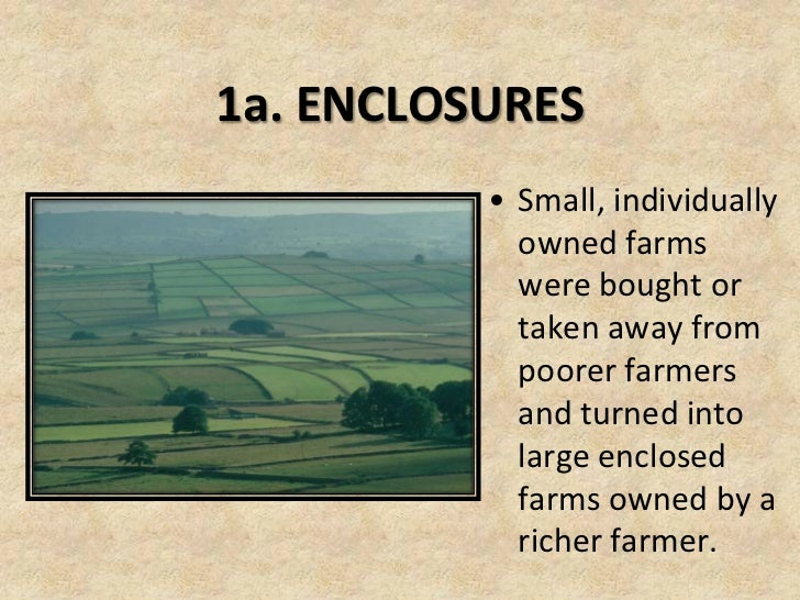 Economic Revolutions - Agricultural Revolution
