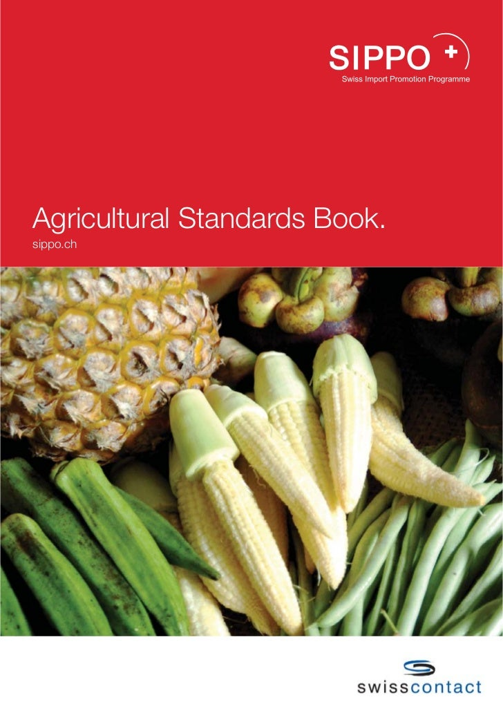 Agricultural Standards Book.sippo.ch