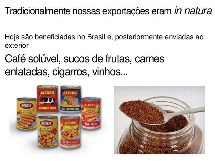Solos mais férteis, máquinas e outros recursostécnicos são mais utilizados nas agriculturas deexportaçãoA produção de mand...