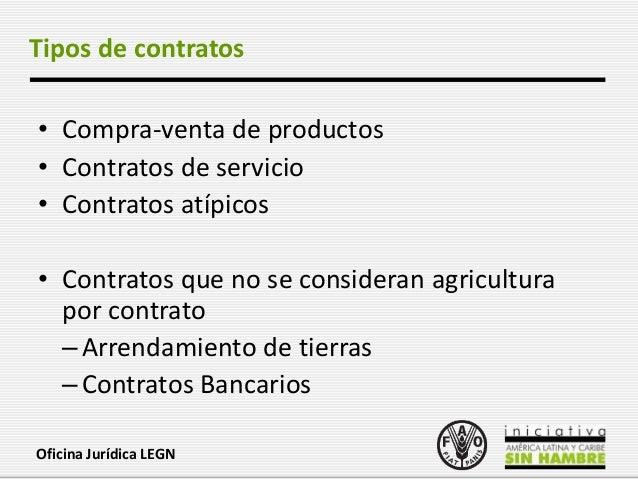 Aspectos legales de la agricultura por contrato - Contrato de arrendamiento de oficina ...