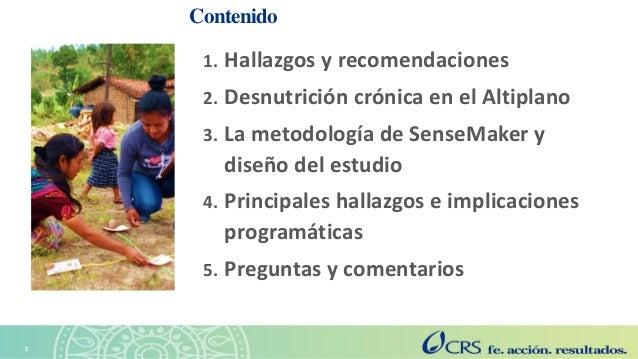 Agricultura sensible a la nutrición en el Altiplano. Explorando las perspectivas de las familias con la metodología SenseMaker Slide 2