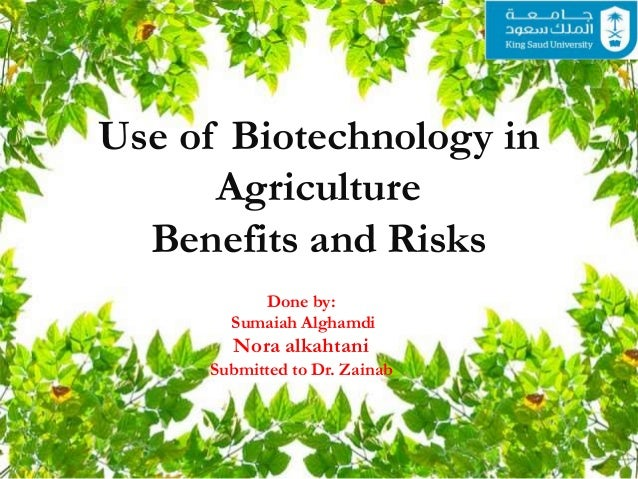 essays on biotechnology in agriculture We will write a custom essay sample on biotechnology essay  and  completely revolutionized agriculture and pharmaceutical industries, all within.