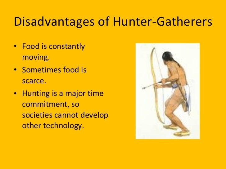 benefits of agriculture vs hunter gatherer