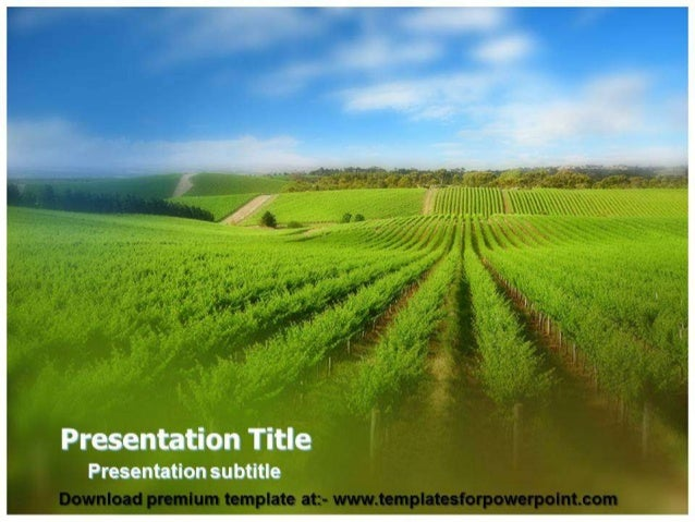 Agriculture Powerpoint Template