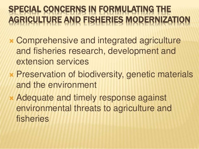 A Status on the Comprehensive Agrarian Reform Program