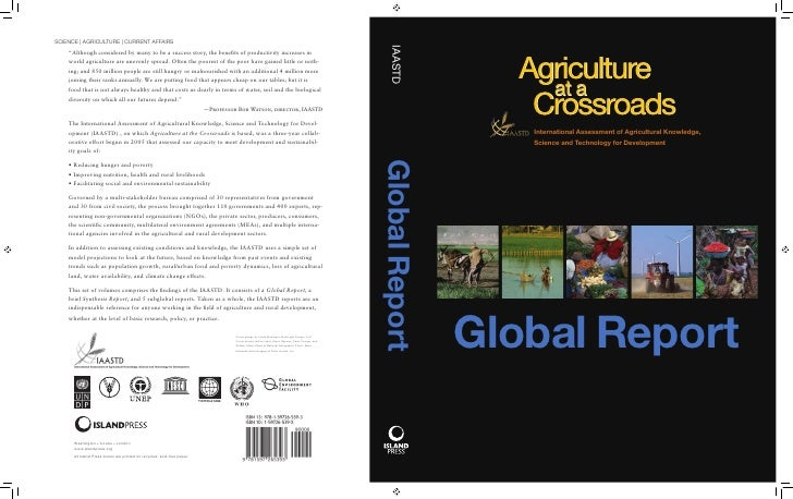 Agriculture at a crossroads global report (english)