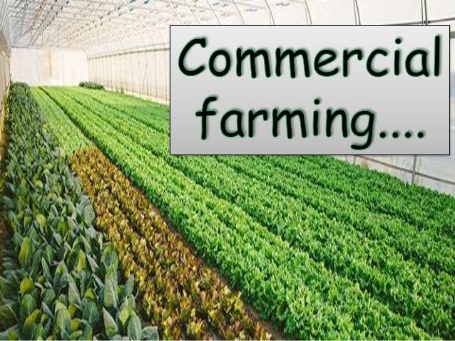types of farming