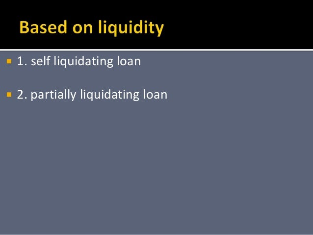 self liquidating equity