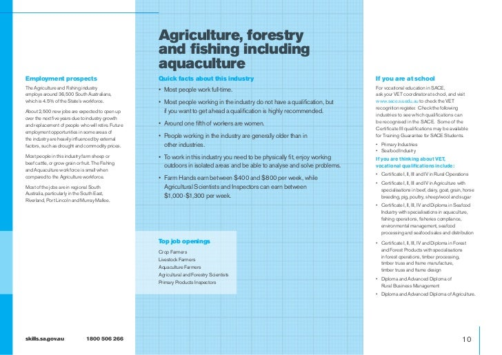 Agriculture, forestry                                                    and fishing including                            ...