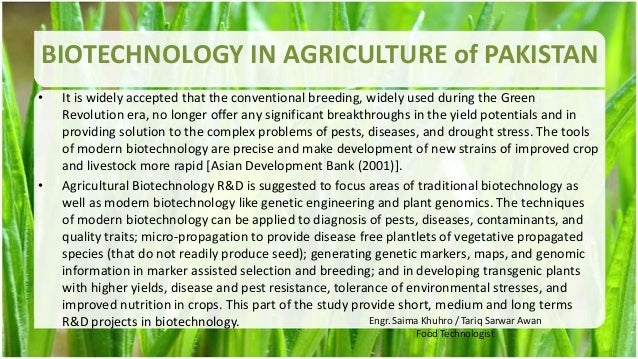 agriculture of pakistan This research based on the role of agriculture in the economic growth of pakistan secondary data has been collected from the year 1980-2010 from the government authentic websites for this purpose simple regression applied to identify the significance relationship of agricultural sub-sectors with.