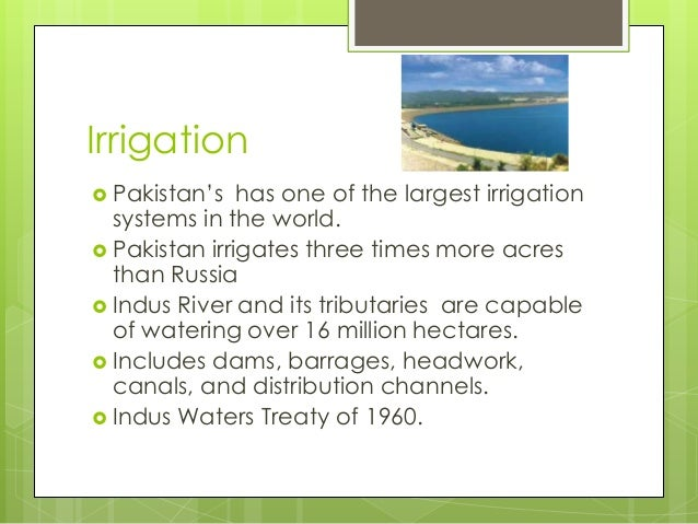 agriculture resources of pakistan Since their inception, agricultural extension services in pakistan have been   sector extension is more concerned with serving the needs of larger, resource- rich.