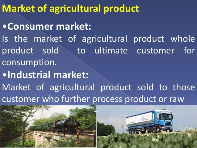 organized marketing of agricultural commodities in Study 98 test 3 flashcards from the marketing spread (margin) on a farm commodity in domestic amounts demanded at a constant price level for many.