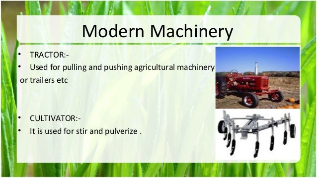 agriculture machine in pakistan
