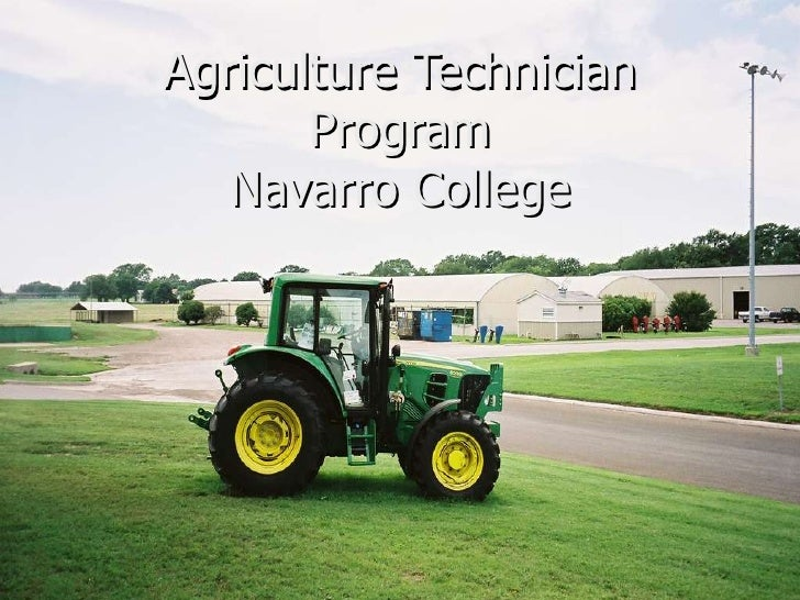 Agriculture Technician Program Navarro College