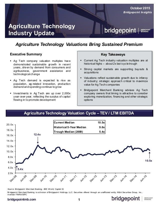2.0x 4.0x 6.0x 8.0x 10.0x 12.0x 14.0x 16.0x 18.0x 20.0x 1bridgepointmb.com Source: Bridgepoint  Merchant Banking,  IBI...