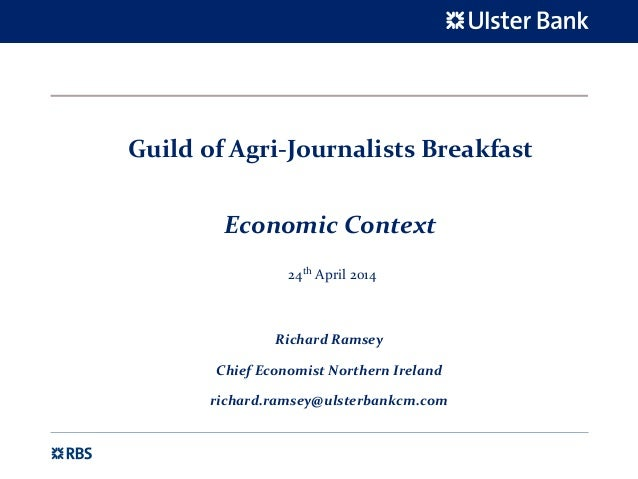 Presentation to Guild of Agri Journalists