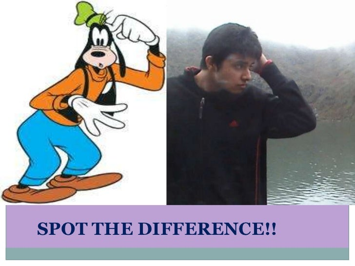 SPOT THE DIFFERENCE!!