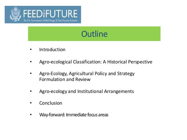 Agro Ecology & Agriculture Policy in Ethiopia Slide 2