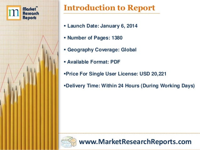 Agrochemical and Pesticide Markets in the World to 2018 - Market Size, Trends, and Forecasts Slide 2