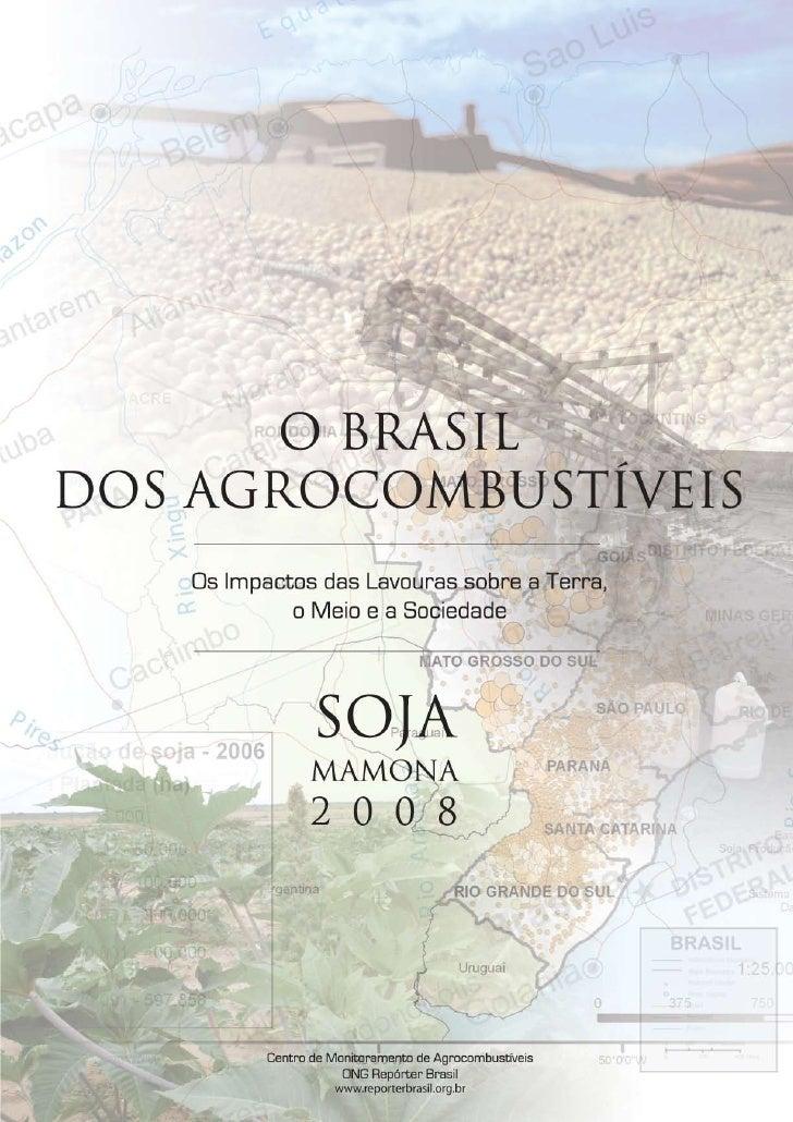 Índice                                                                             O Brasil dos Agrocombustíveis  Apresent...