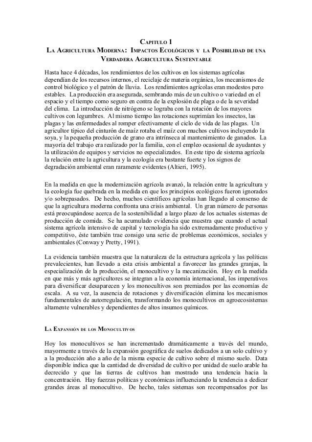Agroecologia principios y estrategias Rotaciones de cultivos ecologicos