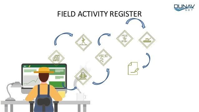 FIELD ACTIVITY REGISTER