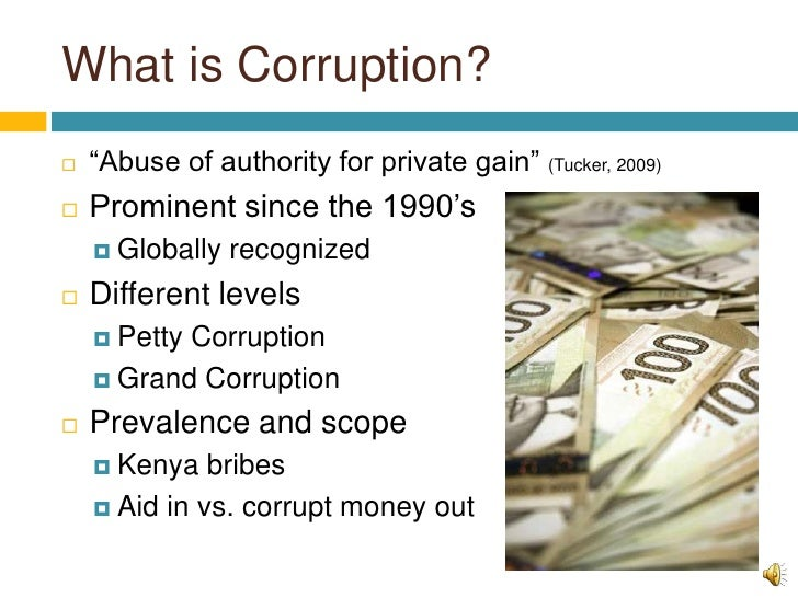 effect of corruption on kenyas economoc The link between corruption and poverty : lessons from kenya case the nature of corruption and its effects on the economy the link between corruption and.