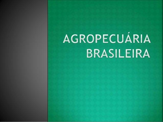 Brasil possui um extenso território com relativa variedade de climas, predominantemente quentes, que nos permite o cultivo...