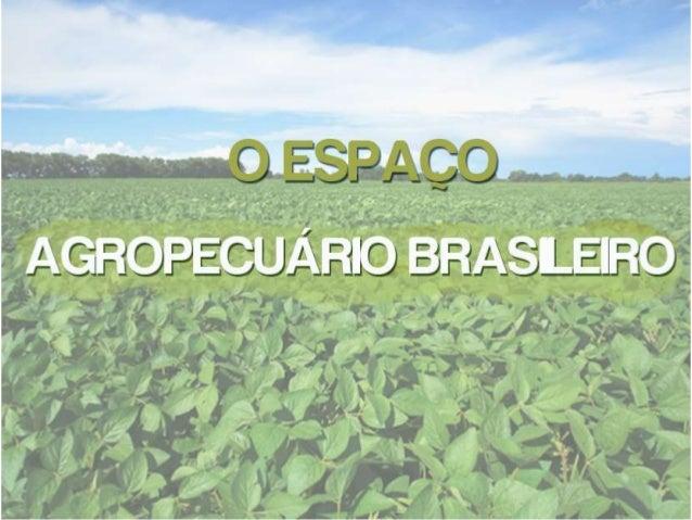 A produção agropecuária é uma atividade desenvolvida no espaço  rural, em áreas que se encontram ocupadas pelo setor primá...