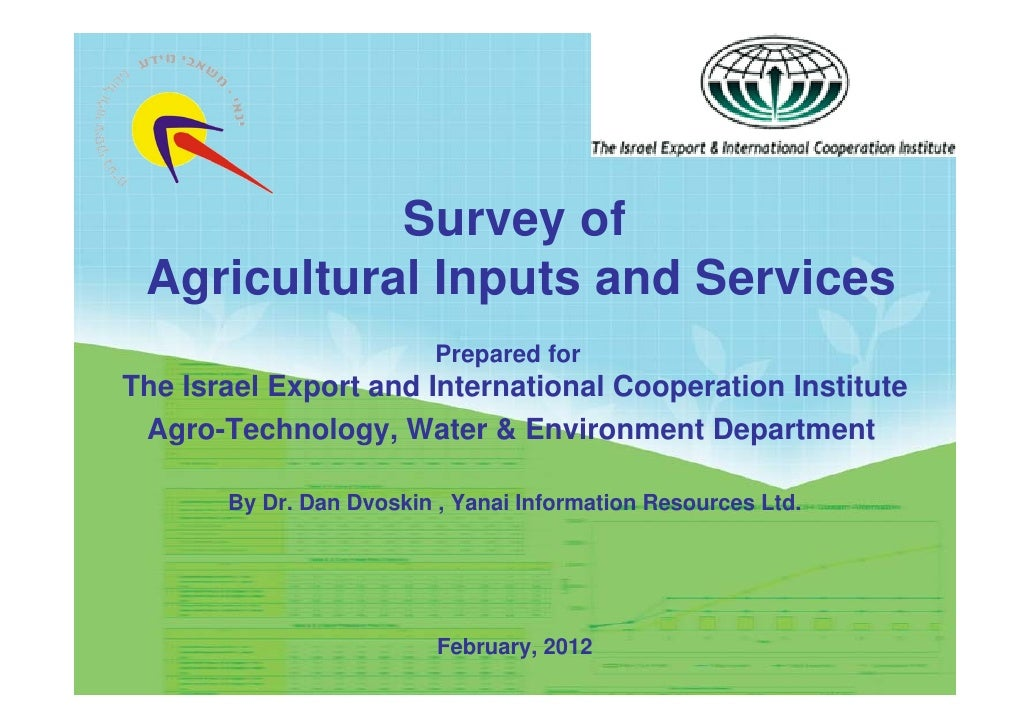 the agricultural economy of israel The economy of the state of palestine refers to israel's offer to agriculture is a mainstay in the economy the production of agricultural goods.