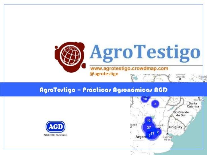 @agrotestigoAgroTestigo – Prácticas Agronómicas AGD