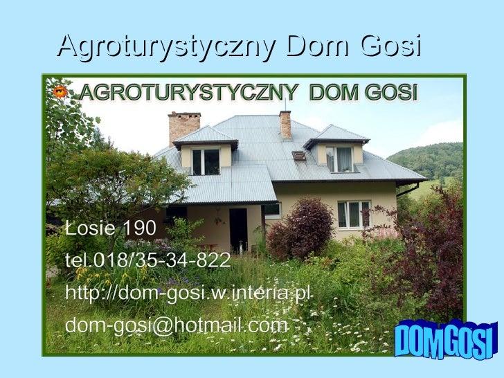 Agroturystyczny Dom Gosi DOM GOSI