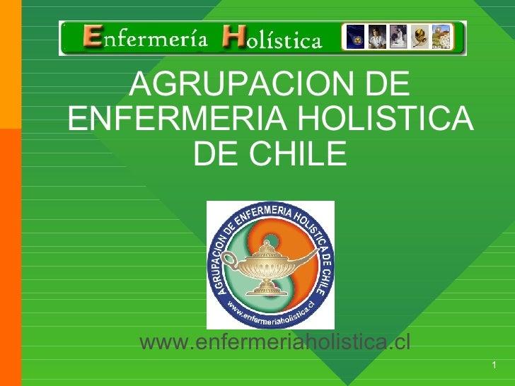 AGRUPACION DE ENFERMERIA HOLISTICA DE CHILE www.enfermeriaholistica.cl
