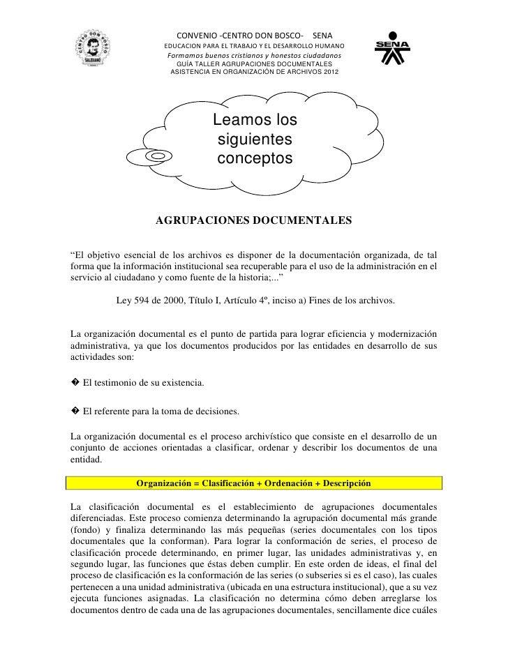 CONVENIO -CENTRO DON BOSCO- SENA                        EDUCACION PARA EL TRABAJO Y EL DESARROLLO HUMANO                  ...